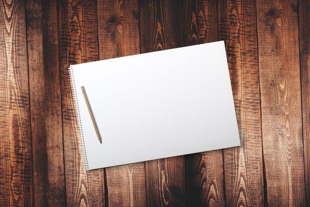 Nepopsaný list (ilustrační foto)