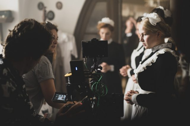 Děj filmu Slúžka se odehrává mezi služebnictvem významného rakousko-uherského úředníka   foto: Tina Botková,  Bright Sight Pictures
