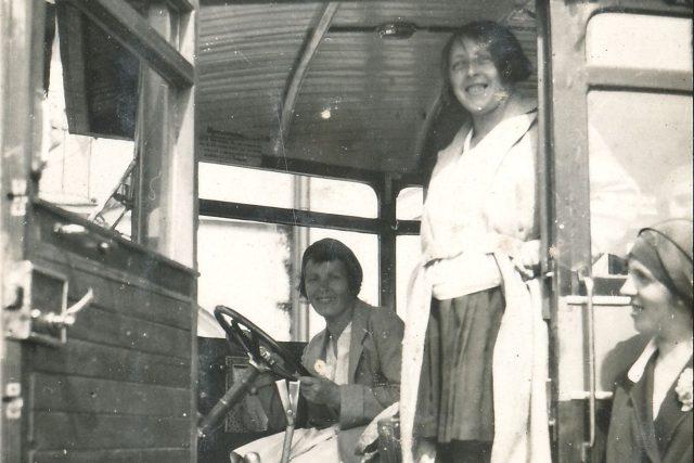 Růžena Zdobnická, řidička autobusu