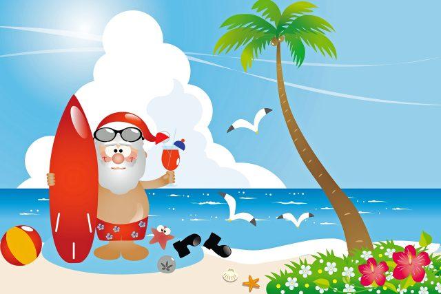 Červencový vánoční úžeh (ilustrační foto)