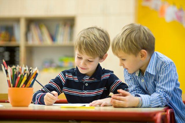 Královéhradecký kraj je jedním ze tří regionů,  kde se do mateřských škol vrací děti  (ilustrační foto) | foto: Profimedia