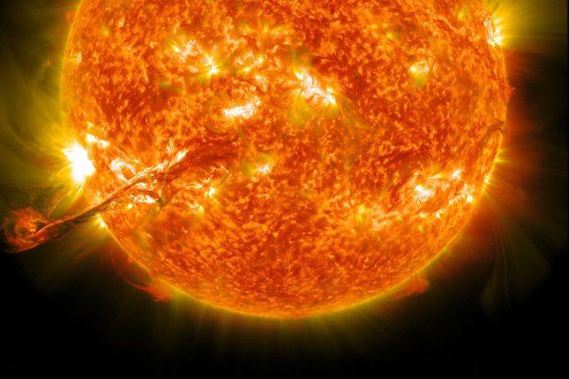 Sluneční erupce | foto: Fotobanka Pixabay