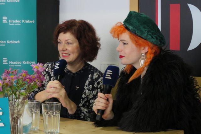 Zpěvačka Žofie Dařbujánová | foto: Milan Baják,  Český rozhlas
