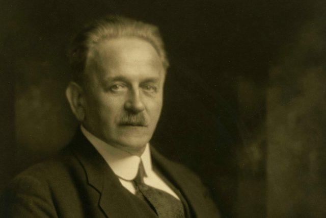 Portrétní fotografie Františka Ulricha, 1928