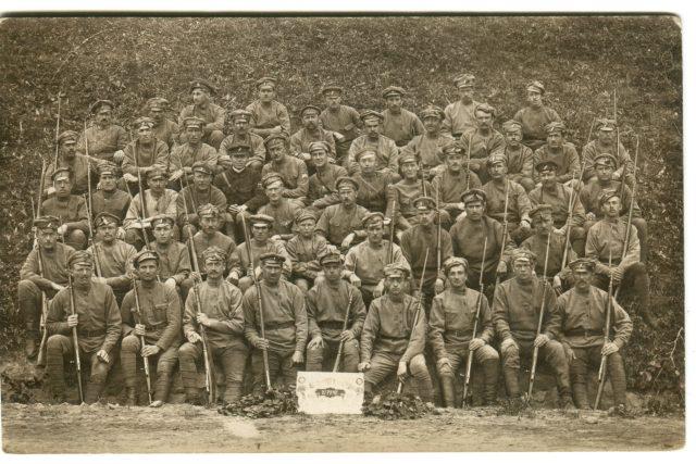 Český legionář v Rusku František Chramosta