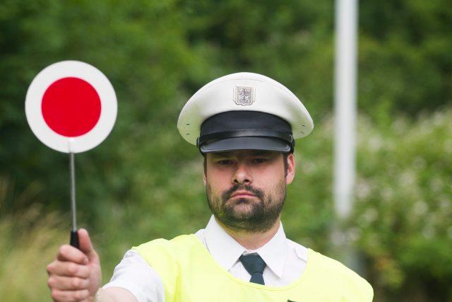 Policista (ilustrační foto)