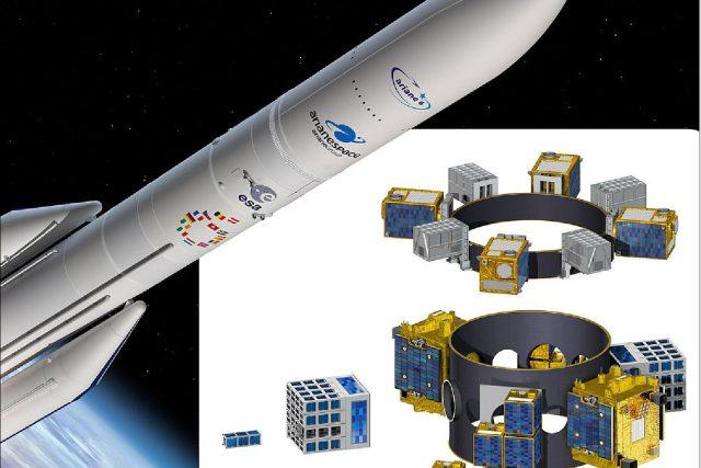 Česká společnost SAB Aerospace se bude podílet na dalším rozvoji evropského vesmírného programu. Bude dodávat zařízení pro raketu Ariane 6 Evropské vesmírné agentury | foto: ESA