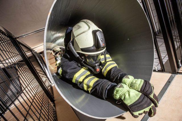 Nový hasičský výcvikový polygon v Rychnově nad Kněžnou