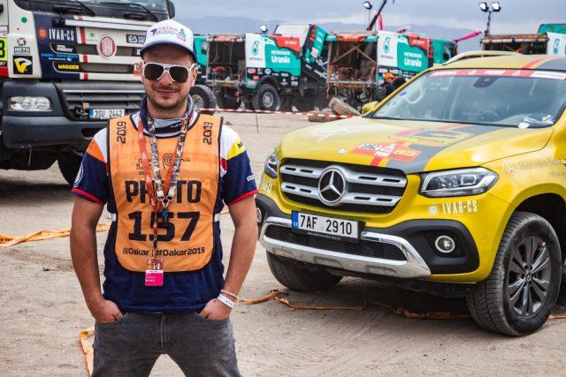 Dakar za oponou. Kameraman Michael Dvořáček natáčel zákulisí nejtěžší rallye světa