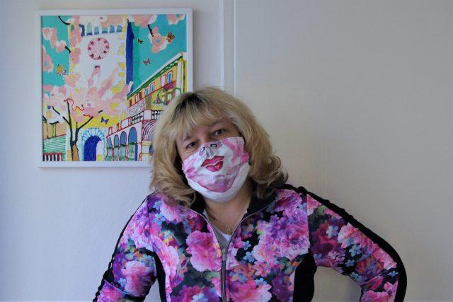 Kateřina Krausová, učitelka výtvarné výchovy a dějin umění v době koronavirové