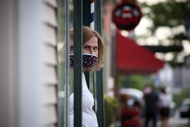 Žena s rouškou | foto: Fotobanka Unsplash
