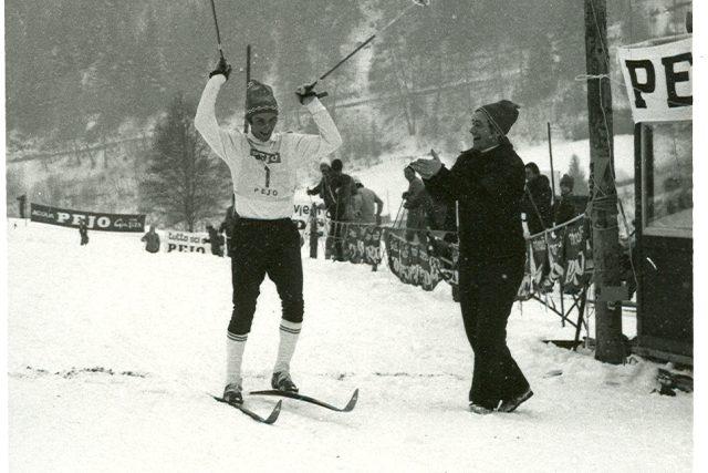 Standa Henych, legenda běžeckého lyžování, rodák z Jilemnice