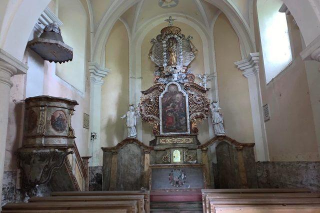 Obnovy se dočká chátrající kaple svaté Barbory u bývalých lázní nedaleko Nového Města nad Metují