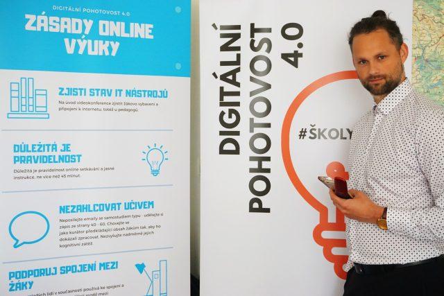 Tomáš Hamberger, zakladatel projektu Digitální pohotovost