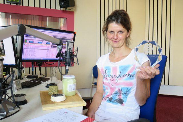 Lenka Lacinová z kozí farmy Pod Zvičinou a ocenění Regionální potravina pro její sýr