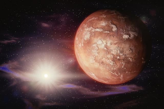 Mars, vesmír, planety (ilustr. foto)