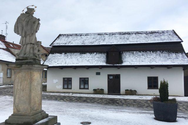 Rodný domek F. L. Věka - Heka v Dobrušce