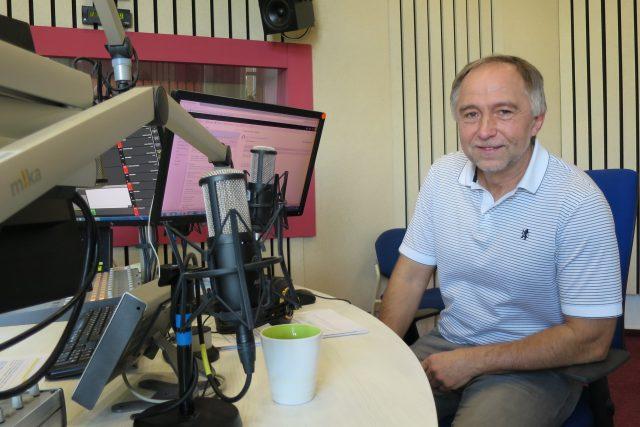 MUDr. Ivan Kučera, Ph.D. ve studiu Českého rozhlasu Hradec Králové