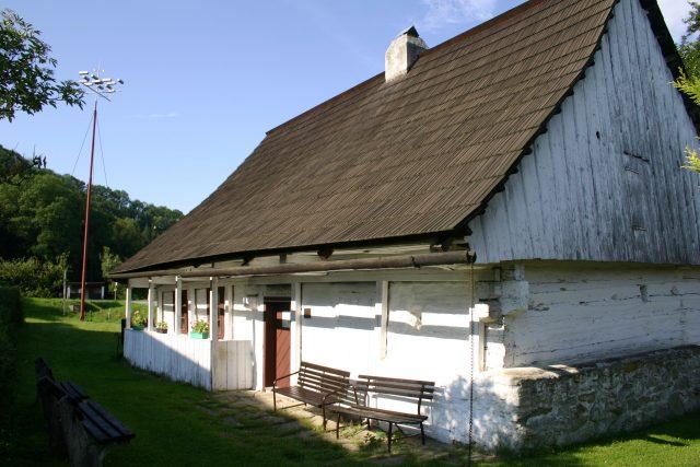 Domek Prokopa Diviše i s bleskosvodem | foto: Muzeum Žamberk