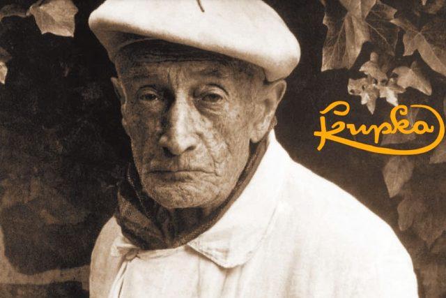 Plakátová výstava v Dobrušce ke 150. výročí narození světoznámého umělce Františka Kupky   foto: Jiří Mach - Vlastivědné muzeum v Dobrušce