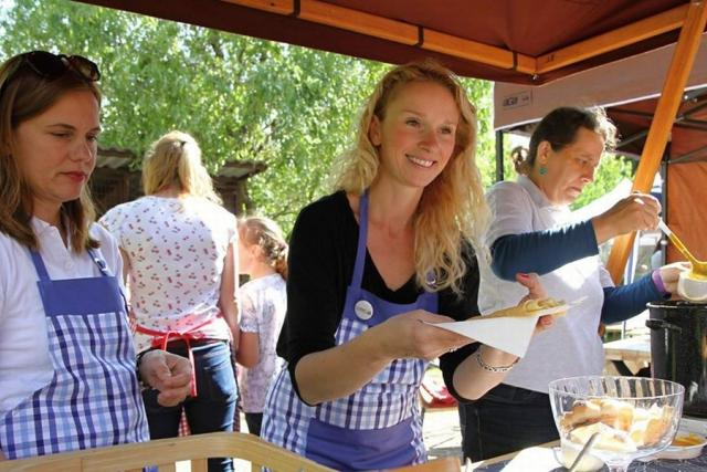 Spolek TAMAR na Food Festivalu ve Vrchlabí