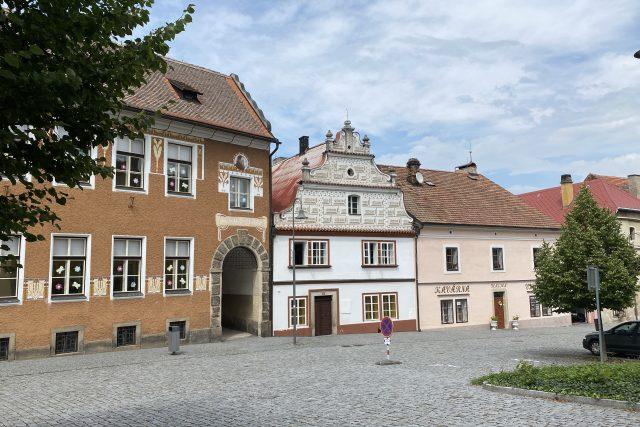 Půvabný barokní domeček byl v detektivce stanicí VB   foto: Šárka Rusnáková,  Český rozhlas