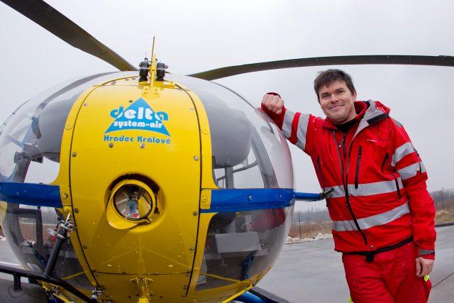 Vedoucí lékař Letecké záchranné služby Královehradeckého kraje Anatolij Truhlář