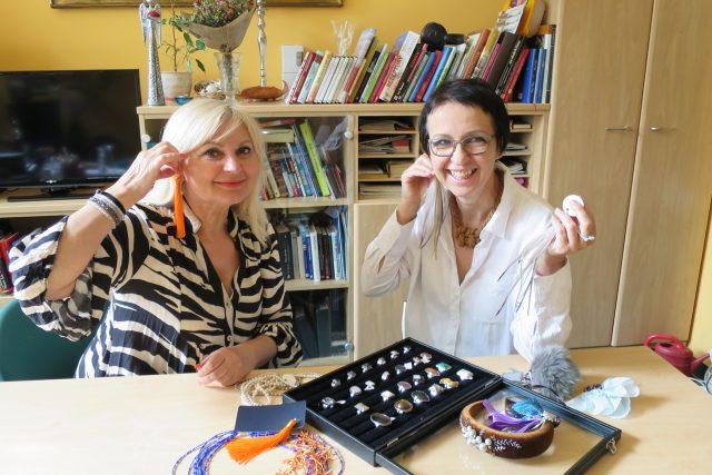 Lada Klokočníková a Jitka Šedová vám ukáží krásné letní šperky