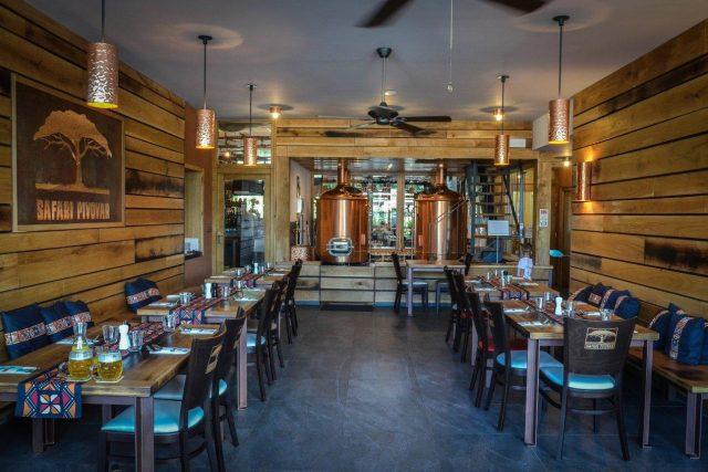 Restaurace Pivovar Safari