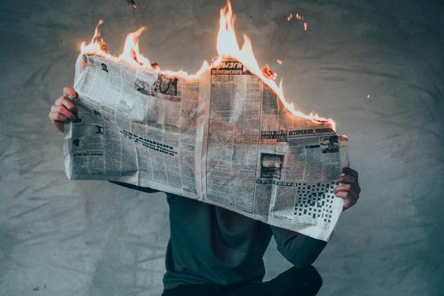 Média, noviny, zprávy (ilustrační obrázek)