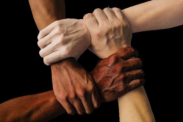 Spojené síly a ruce (ilustrační foto)