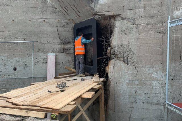 Na vojenské pevnosti Dobrošov na Náchodsku pokračuje rozsáhlá obnova | foto: Jana Házová,  Český rozhlas
