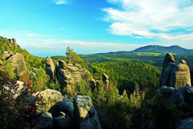 Broumovsko je sice trošku zapomenutý, ale nádherný kout naší vlasti