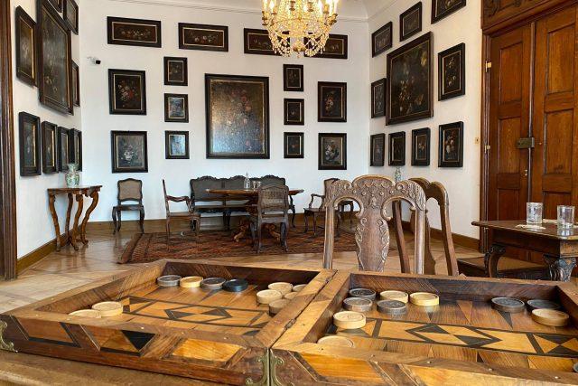 Nový prohlídkový okruh na zámku v Náchodě   foto: Archiv Národního památkového ústavu