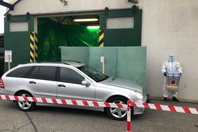 Drive-in volby v Olomouci