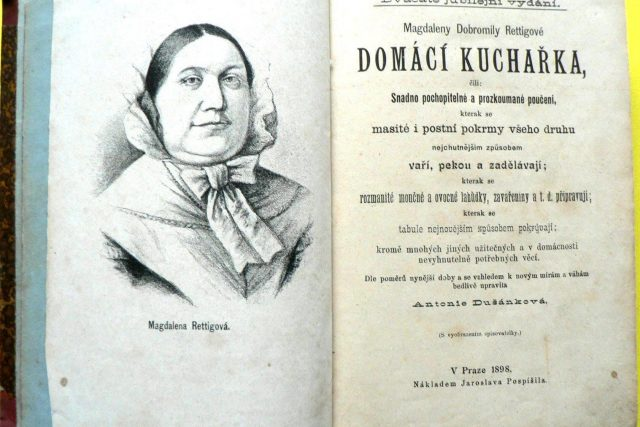 Nejoblíbenější kuchařka Magdalény Rettigové | foto: Archiv Muzea Náchodska