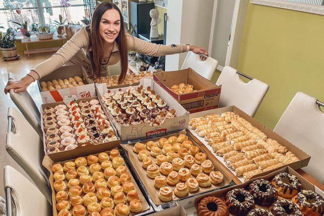 Už roky chci mít svoji cukrárnu,  kavárnu nebo pekárnu,  směje se zpěvačka Kamila Nývltová | foto: archiv Kamily Nývltové