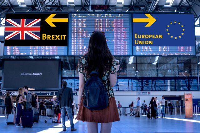 Častým tématem rozhovorů v Británii je otázka brexitu (ilustrační foto)