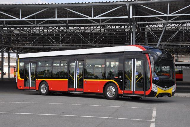 Nové vozy městské hromadné dopravy v Hradci Králové