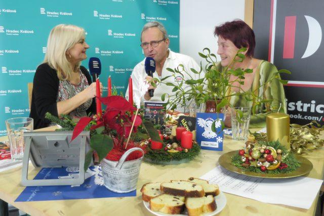 František Hlubocký s manželkou hosty Lady Klokočníkové