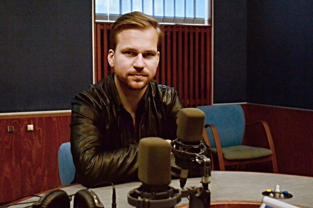 Martin Chodúr   foto: František Tichý,  Český rozhlas