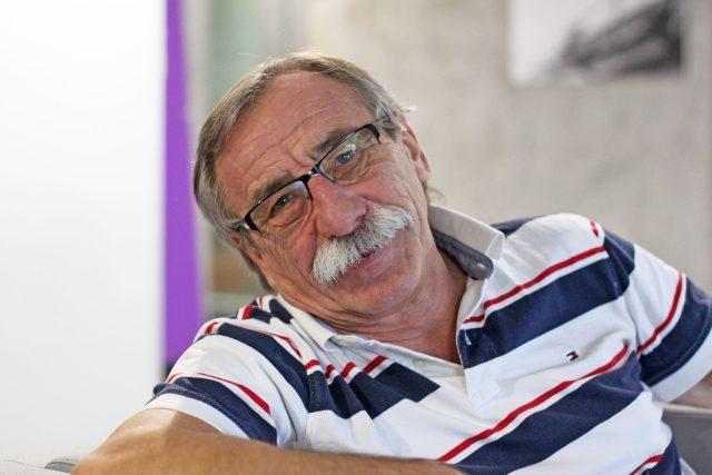 Herec Pavel Zedníček je pověstný svým svérázným humorem | foto: Elena Horálková,  Český rozhlas