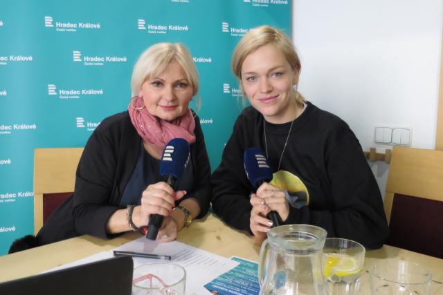 Ester Geislerová hostem Lada Klokočníkové v rozhlasové kavárně