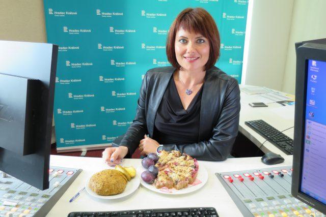 Výživová poradkyně Bc. Martina Jandová hostem naší radioporadny   foto: Milan Baják,  Český rozhlas