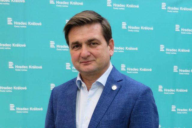 Martin Červíček ve studiu Českého rozhlasu Hradec Králové | foto: Milan Baják,  Český rozhlas