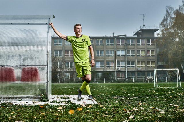 Bořek Dočkal v novém zeleném dresu české reprezentace