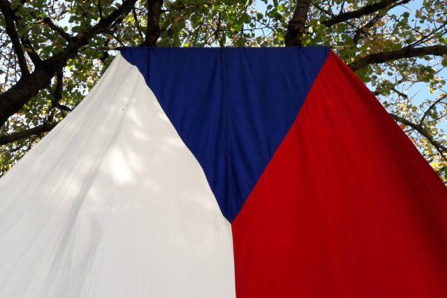 Česká vlajka, Česko, Česká republika  (ilustrační foto)