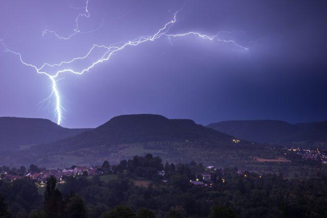 bouřka (ilustrační foto)
