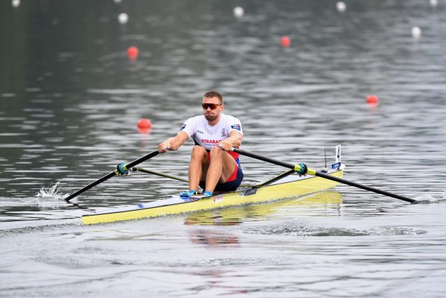 Skifař Ondřej Synek na mistrovství světa v Ottensheimu   foto: ASC Dukla Ivana Roháčková