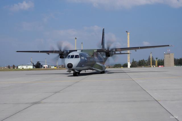 Český dopravní letoun CASA C-295